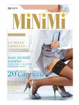 Смотрите также: Чулки Minimi Capriccio 20