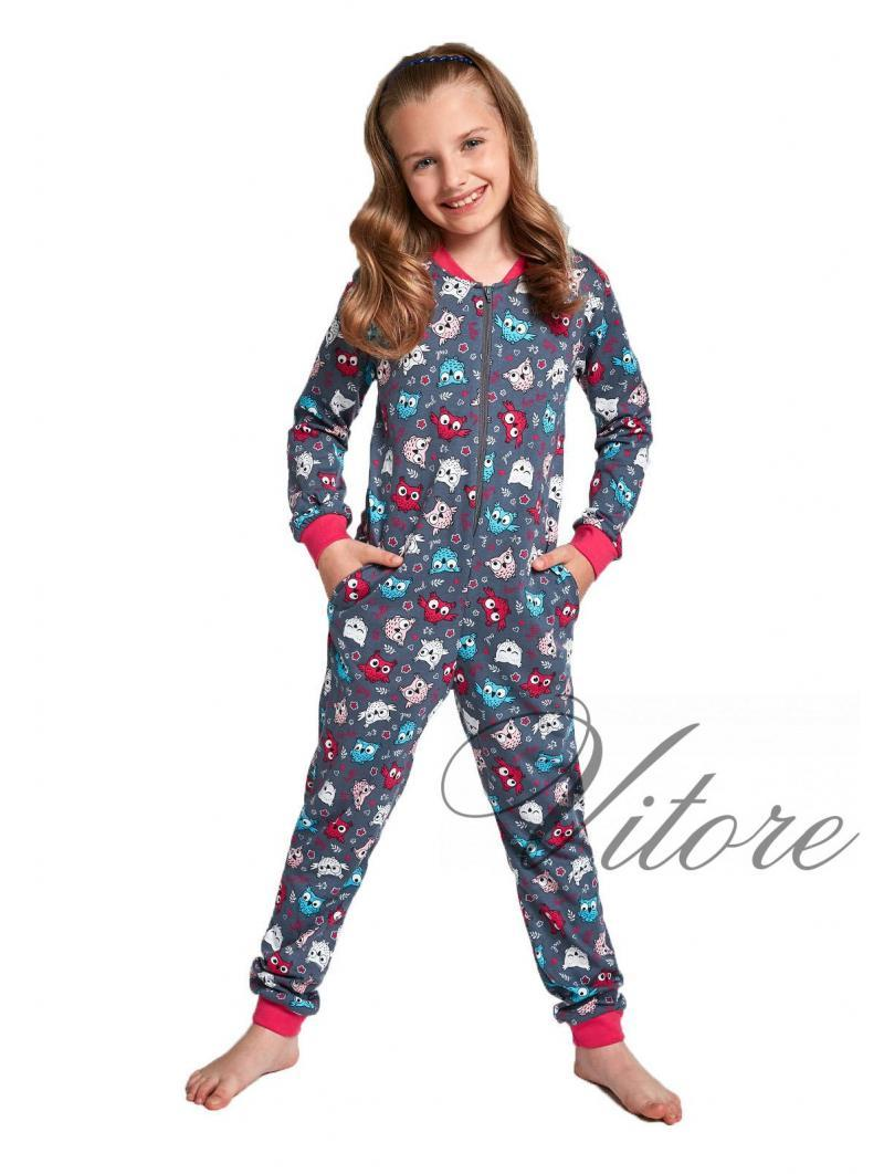Пижамный комбинезон для девочки 106/104 Owl 2