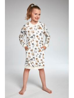 Рубашка для девочки 943/105 Lovely Cats