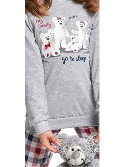 Пижама для девочки Cornette 177/102 My family