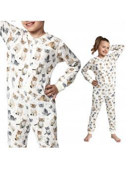 Пижамный комбинезон для девочки 105/100 Lovely cats3