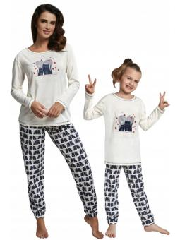 Пижама для девочки Cornette 974/94 Two cats