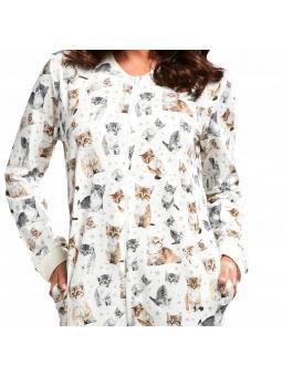 Пижамный комбинезон для женщины 107/174  Lovely cats