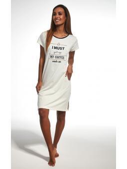 Сорочка для женщин Cornette 350/156 Coffee 3