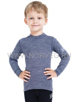 Футболка детская с длинным рукавом Norveg Soft unisex 4SU2HL