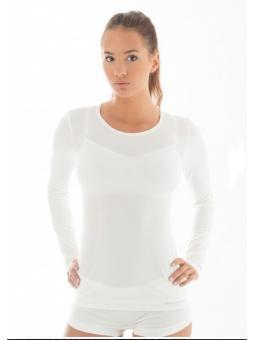 Сорочка женская с длинным рукавом Brubeck LS12150