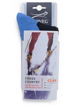 Носки мужские для катания на лыжах Norveg Cross Country 9CRCM