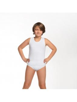 Смотрите также: Комплект (майка+трусики) для мальчика Cornette Kids 864