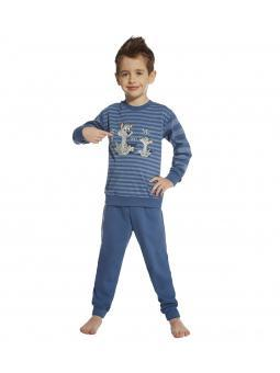 Пижама с длинным рукавом для мальчика Cornette Daddy and me