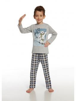 Пижама с длинным рукавом для мальчика Cornette Top of the world