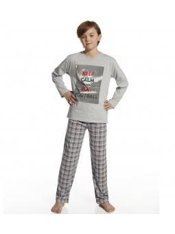 Пижама с длинным рукавом для мальчика Cornette Keep calm