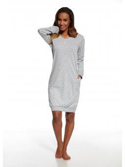 Смотрите также: Ночная рубашка для женщины Cornette 652/121 White Bear