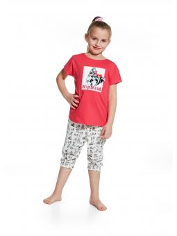 Пижама для девочки Cornette 081/54 Lets go