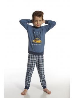 Пижама с длинным рукавом для мальчика Cornette 776/40 Taxi