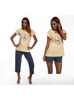 Смотрите также: Пижама женская Cornette 666/64 (3 предмета)
