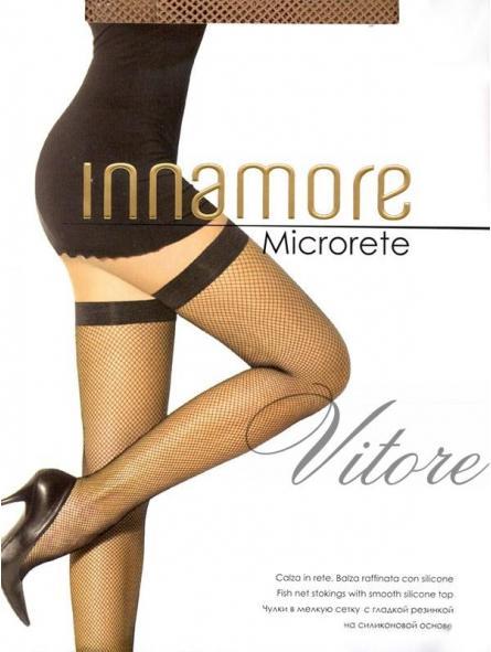 Чулки Microrete / Innamore (сетка)