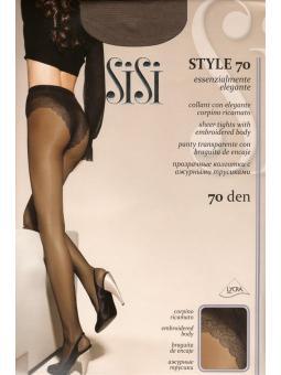 Смотрите также: Колготки женские Sisi Style 70 den