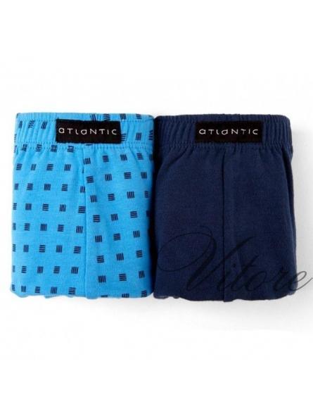 Комплект мужских шорт Atlantic модель: 2MH-046 2 штуки
