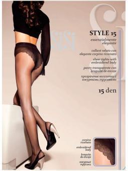 Смотрите также: Колготки женские Sisi Style 15 den